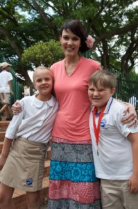 Grade 2 Afrikaans teacher at Orban School, Karli Ferreira, received a medal award in the open category for comic monologue.  Her pupils in Grade 2, Joshua Oosthuizen and Rebekka Viljoen also won medal awards.